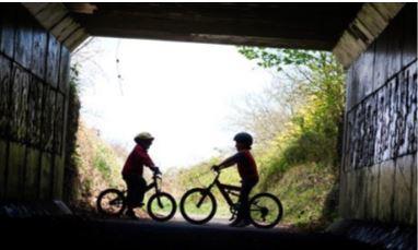 Cuckoo Trail cycling